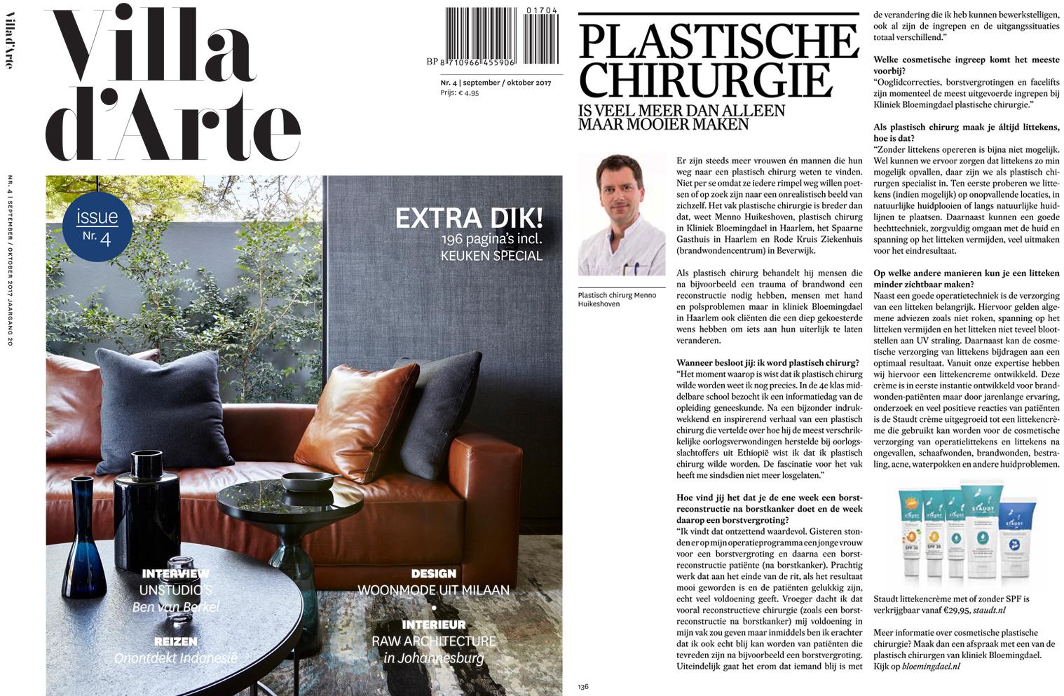villa d arte 1 1 - Dr. Menno Huikeshoven vertelt over zijn vak in Villa D'Arte